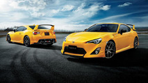 Toyota 86 Yellow Limited introduced in Japan
