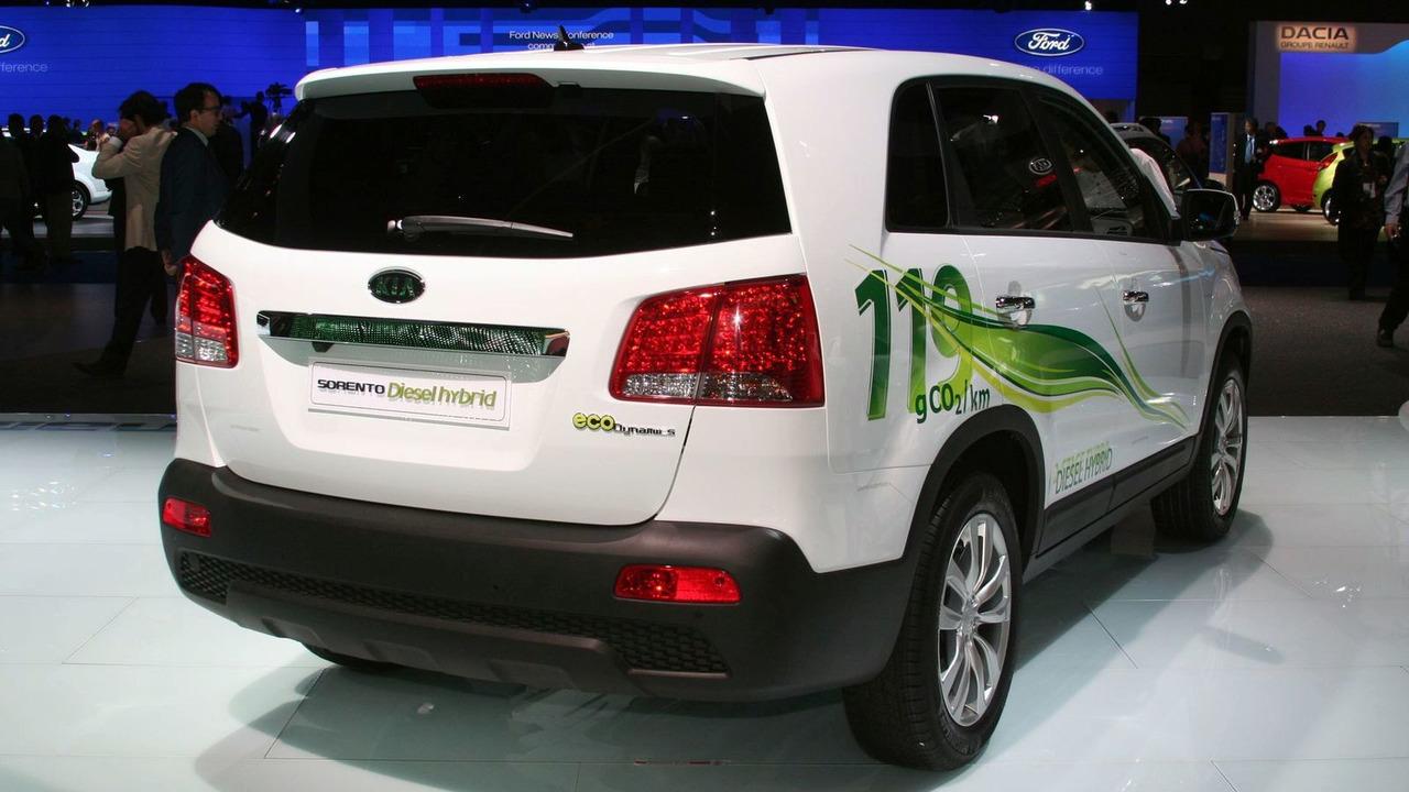 2010 Kia Sorento Hybrid