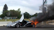 1995 McLaren F1 destroyed in fire