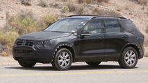 Next Gen 2011 VW Touareg first full body spy photos in American desert