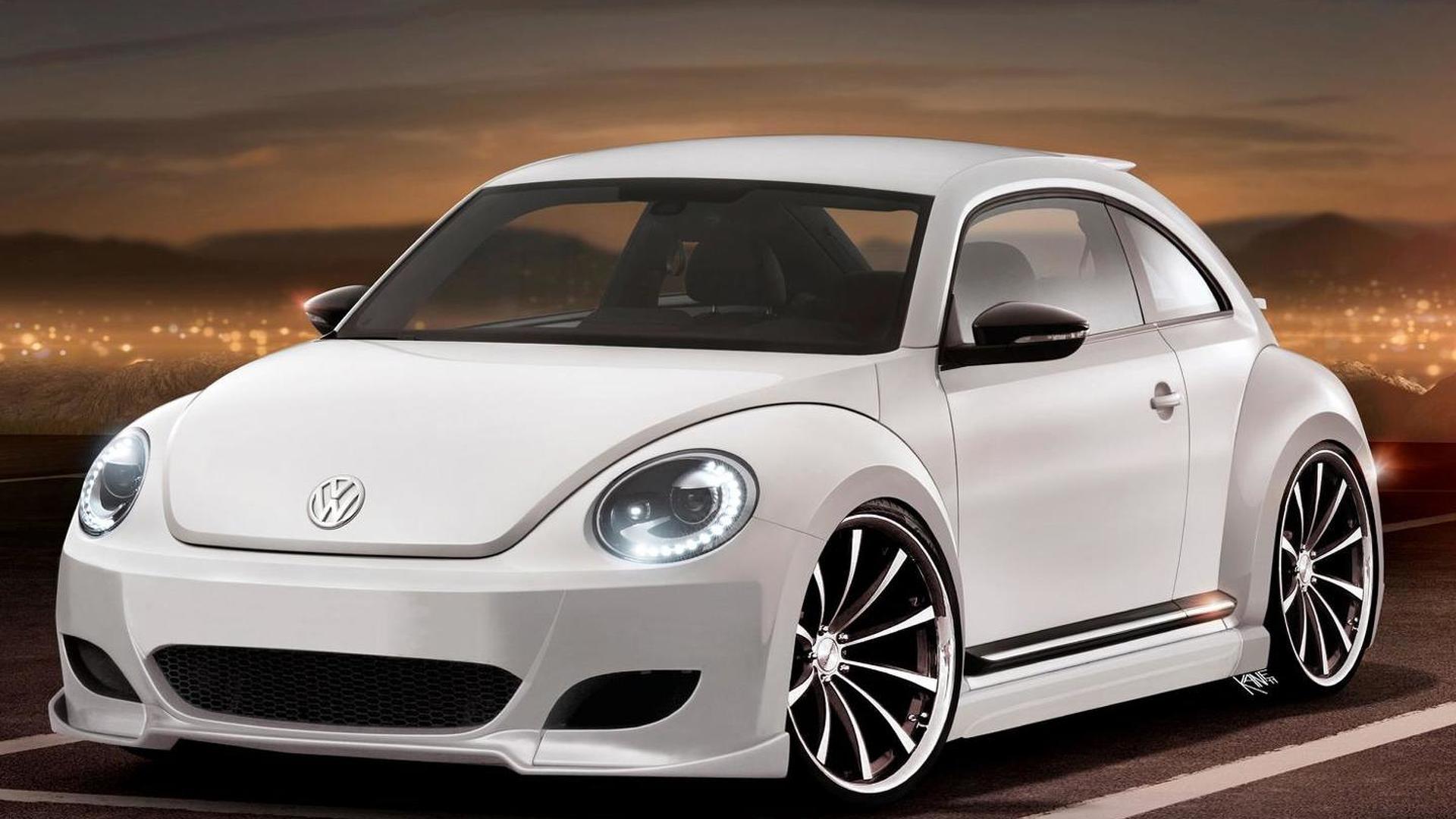 VW Beetle debuts - Beetle R speculation begins