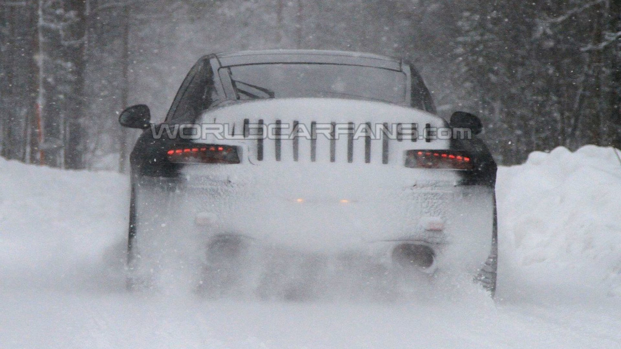 2011 Porsche 991 winter test spy photos - 27.01.2010