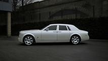 Project Kahn Present Pearl White Rolls Royce Phantom