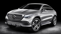 Mercedes-Benz previews BMW X6 rival with Concept Coupe SUV