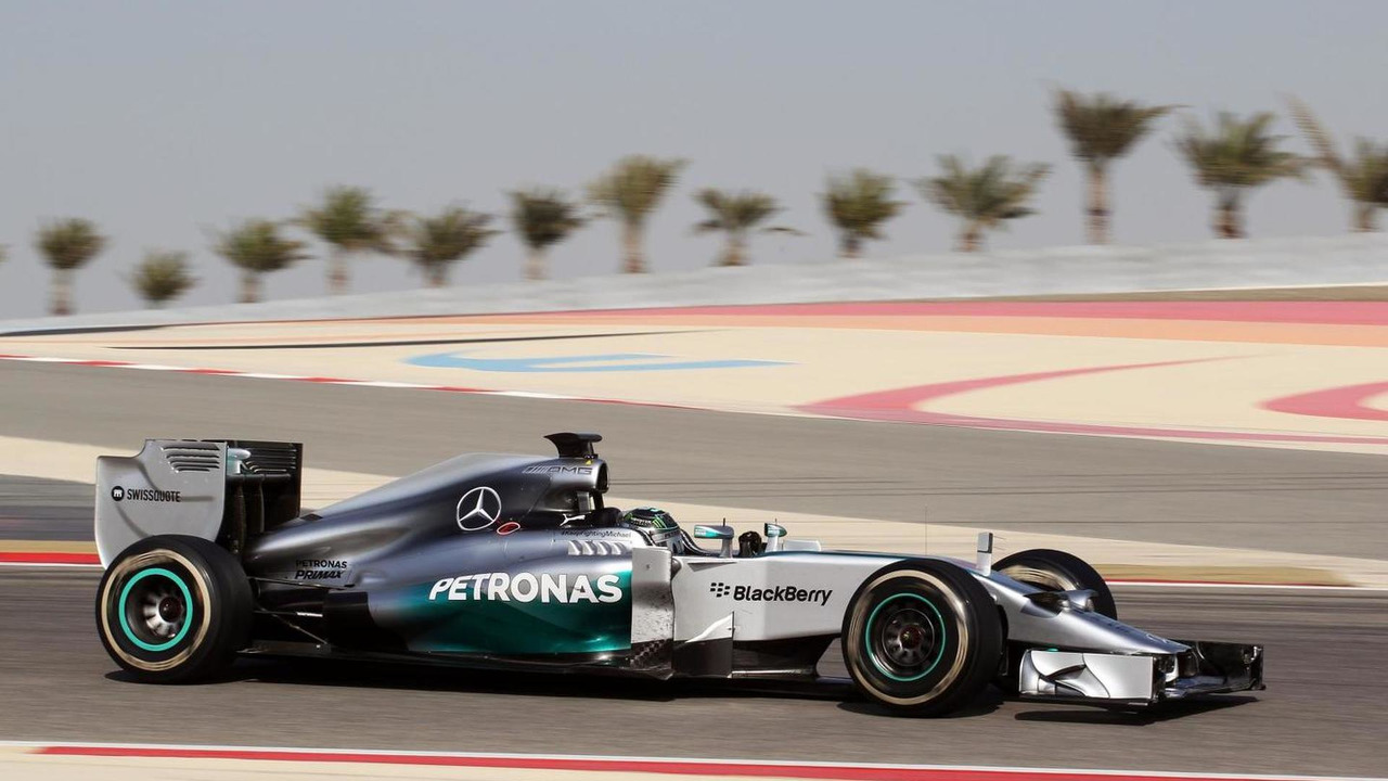 Nico Rosberg (GER) Mercedes AMG F1 W05, Formula One Testing, Bahrain Test