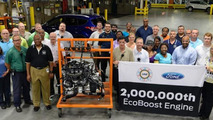 Ford celebrates building two millionth EcoBoost engine