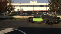 Lamborghini Aventador Roadster spy photo 09.11.2012