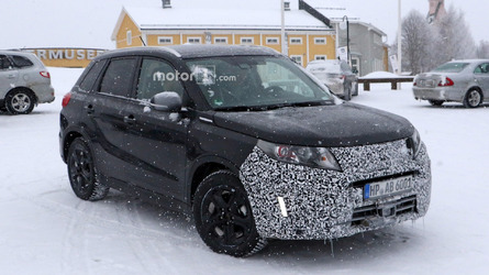 Suzuki Vitara already spied prepping for mild facelift