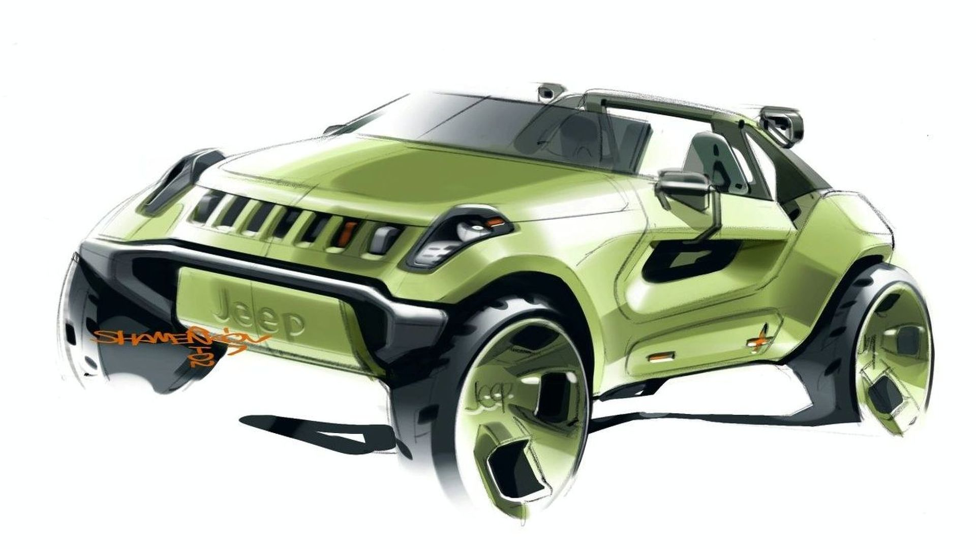 Jeep to Storm Detroit with Renegade Hybrid Concept