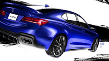 Galpin Auto Sports Acura TLX revealed for SEMA