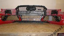 Alleged 2014 Audi RS4 Avant front bumper