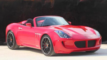 Tauro V8 Spider showcased on video