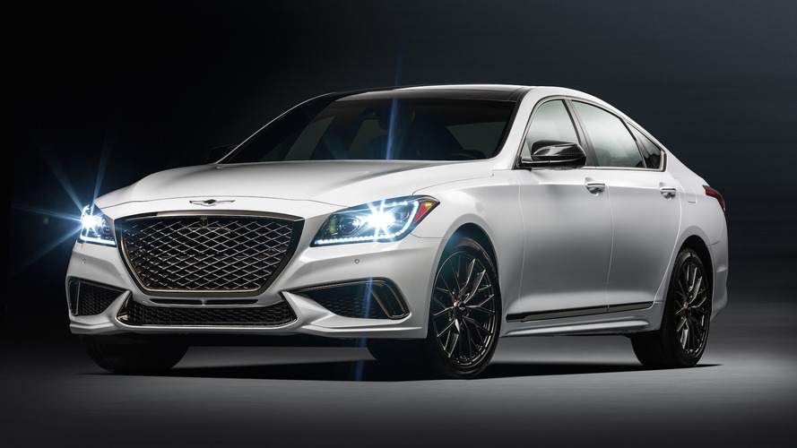 2018 Genesis G80 Sport
