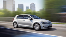 Los Angeles 2016 - La Volkswagen e-Golf restylée pointe le bout de son nez