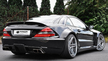 Mercedes SL r230FL Black Edition aero kit by Prior Design 22.07.2011