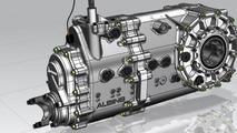 Albins transaxle with Zeroshift technology, Joss JP1 supercar, 1600, 01.07.2011