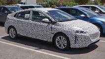 Hyundai dedicated hybrid spy photo