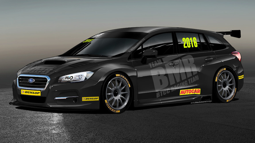 Subaru links up with Team BMR for BTCC debut