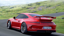 2013 Porsche 911 GT3 first official photos surface