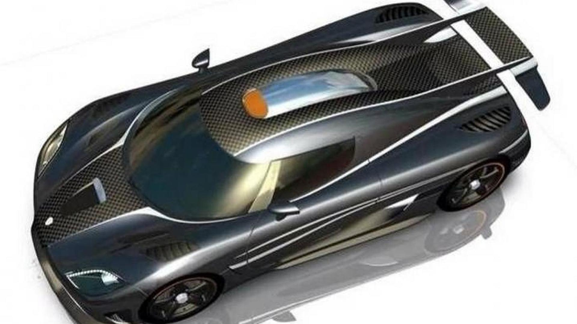 Koenigsegg One:1 shown in additional renders