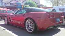 Corvette ZR1 Again Spotted on Nurburgring