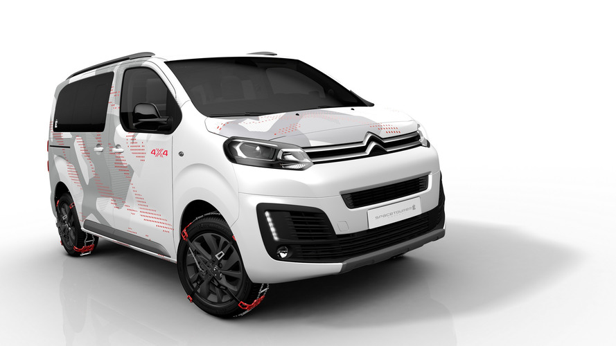 Citroen SpaceTourer concept is a 4x4 minivan for outdoorsy people