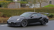 Porsche 911 GT3 RS 4.2 spy photo