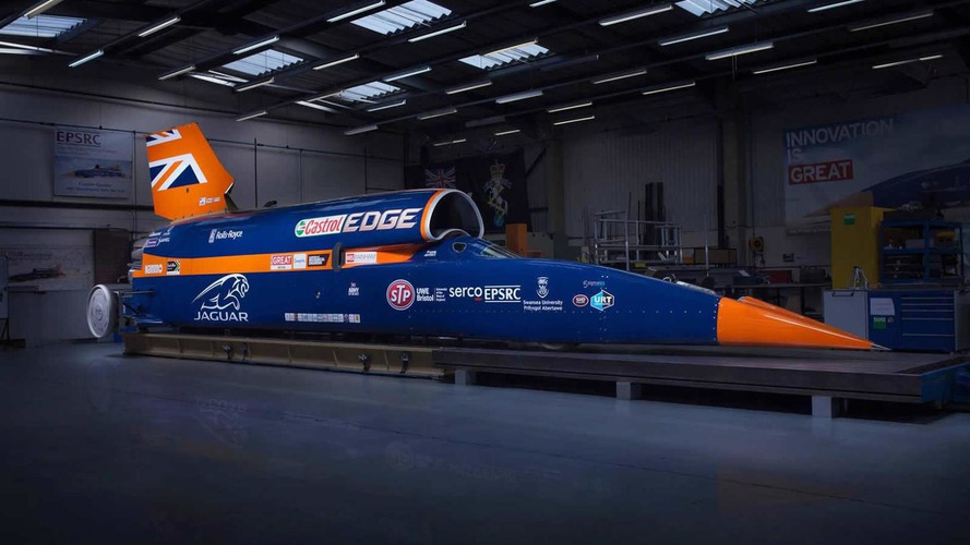 133,151 bhp Bloodhound SSC revealed in final guise; will attempt to hit 1,000 mph
