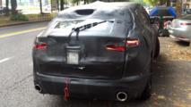 Spyshot de l'Alfa Romeo Stelvio
