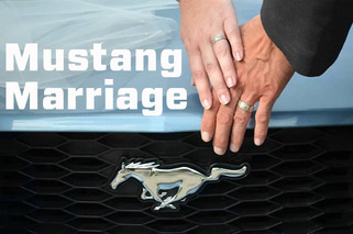 Behold, The Ford Mustang Themed Wedding