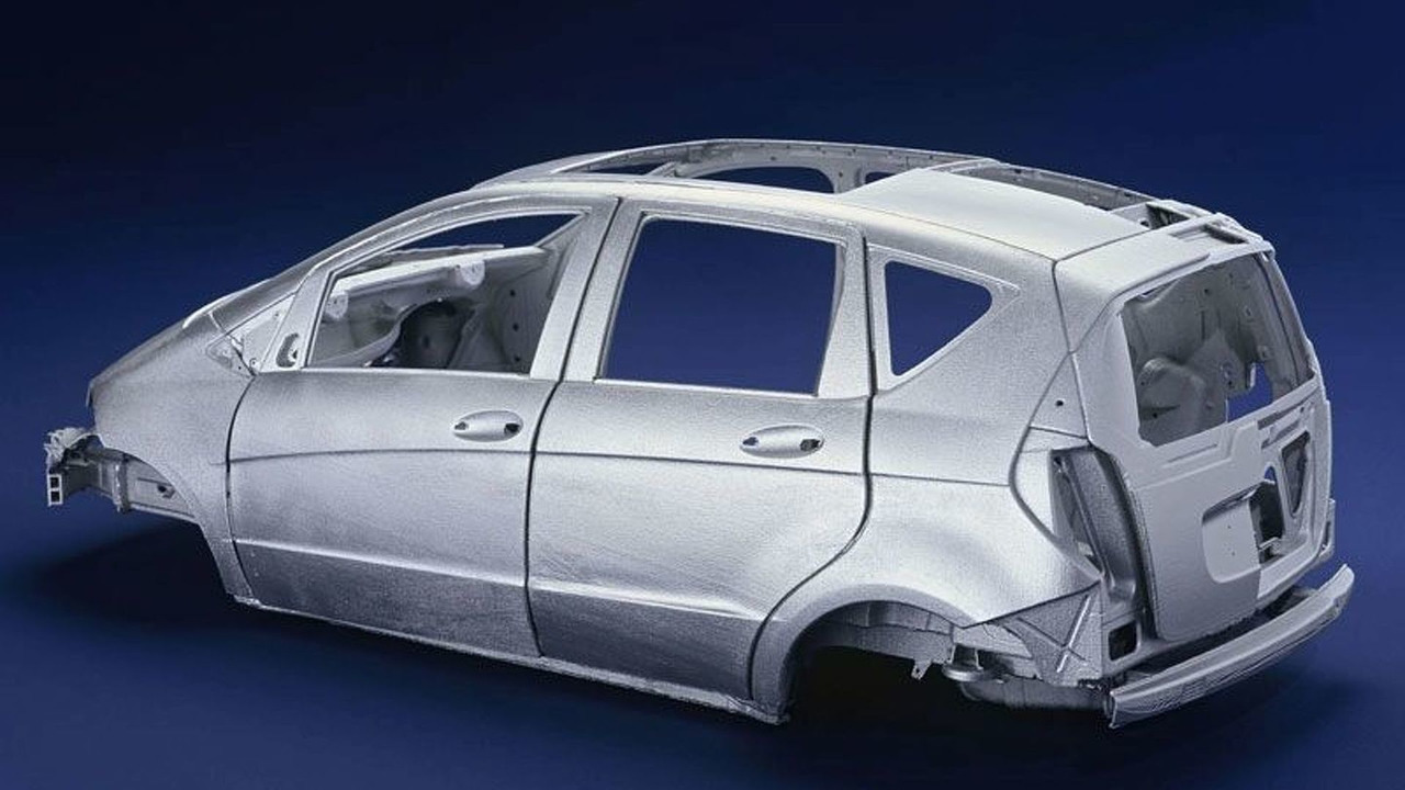 Mercedes-Benz A-Class fully galvanised body