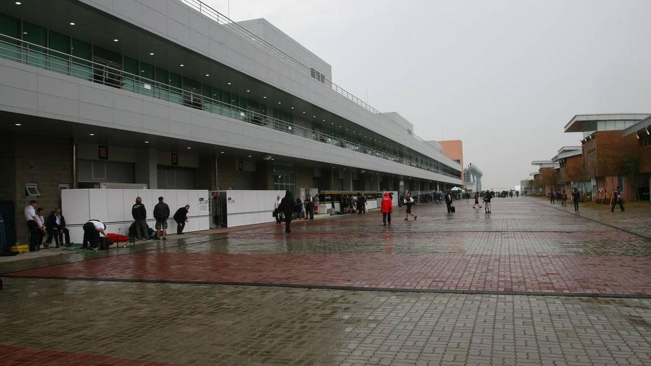 The Paddock - Formula 1 World Championship, Rd 17, Korean Grand Prix, 24.10.2010 Yeongam, Korea