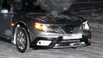 Saab 9-3X spy photos