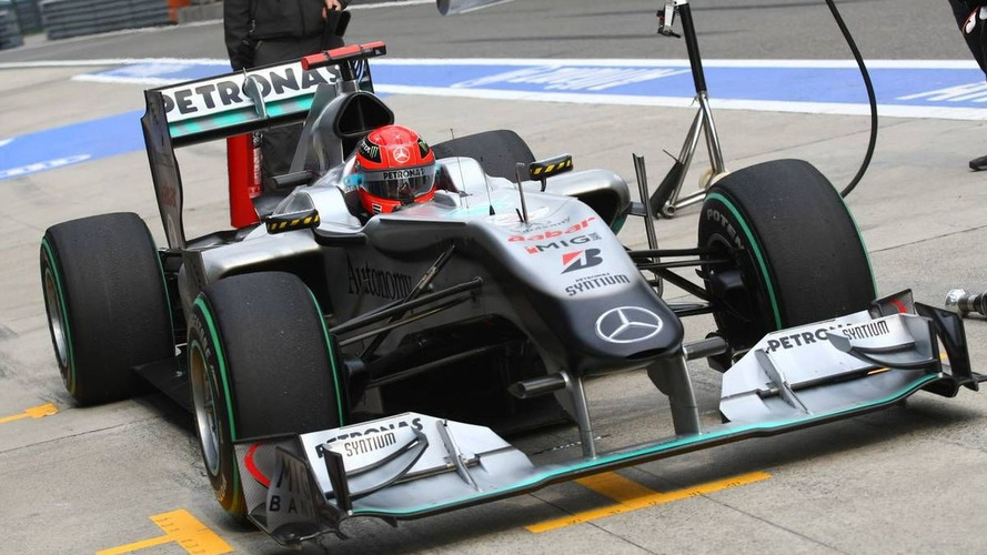 Mercedes to replace Schumacher's chassis for Barcelona