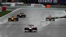 Pecking order unclear as more rain falls at Spa
