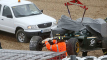 Kovalainen crash ends Lotus' Thursday test
