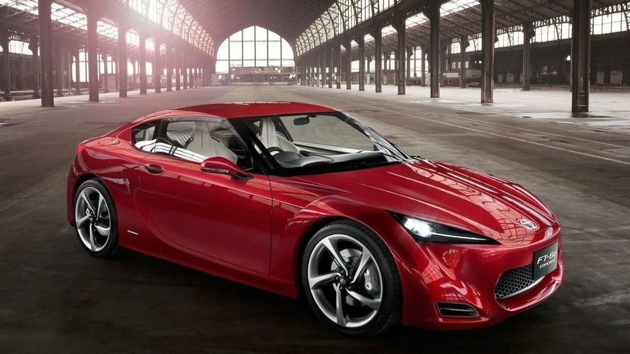 Rejected Toyota FT-86 Design Rumors False