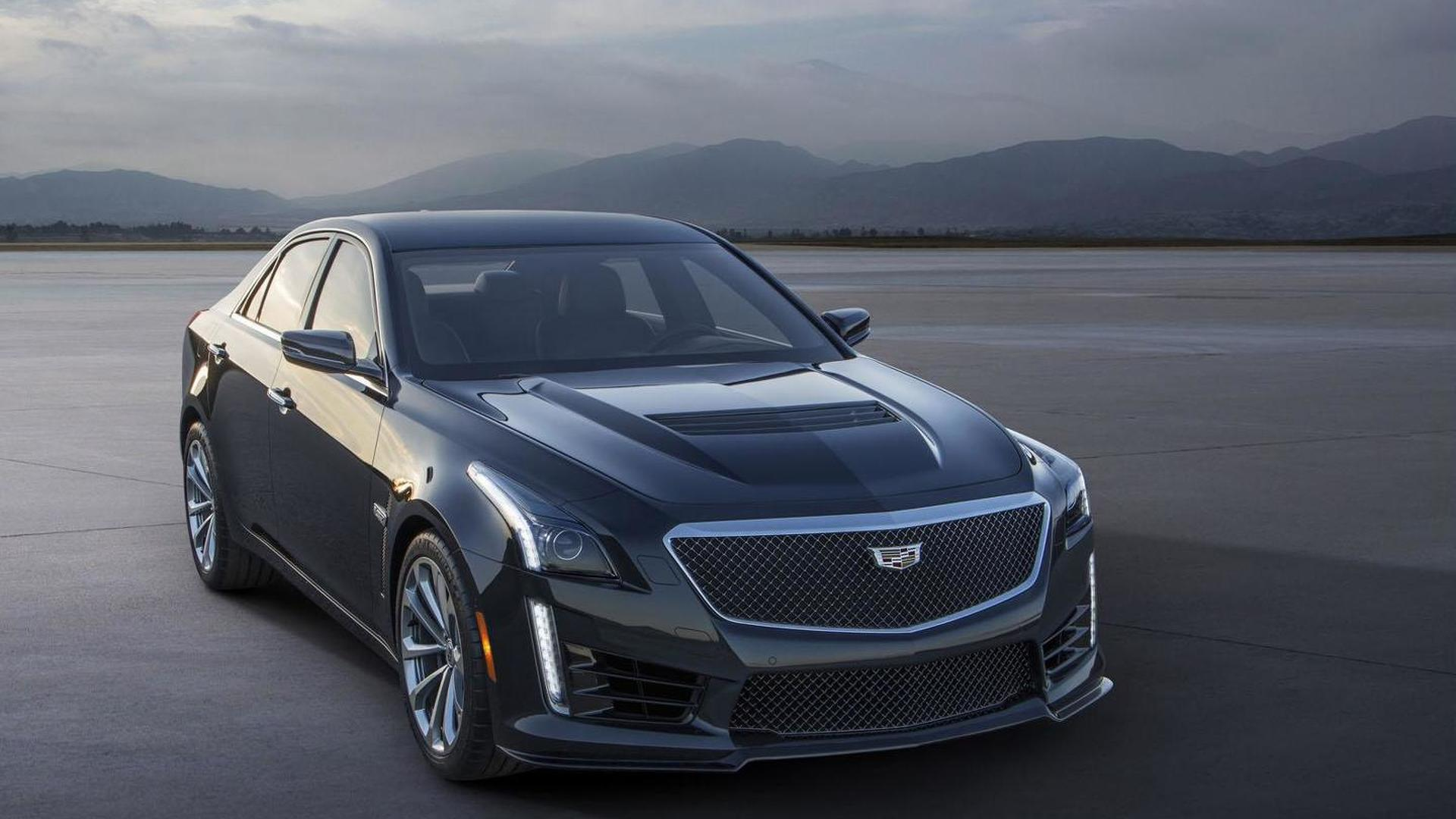 Cadillac ATS-V and CTS-V receive Euro debut in Geneva