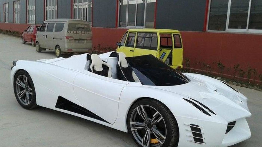 Pagani Huayra replica is a bad joke from China
