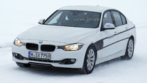 BMW 3-Series Plug-in Hybrid spy photo