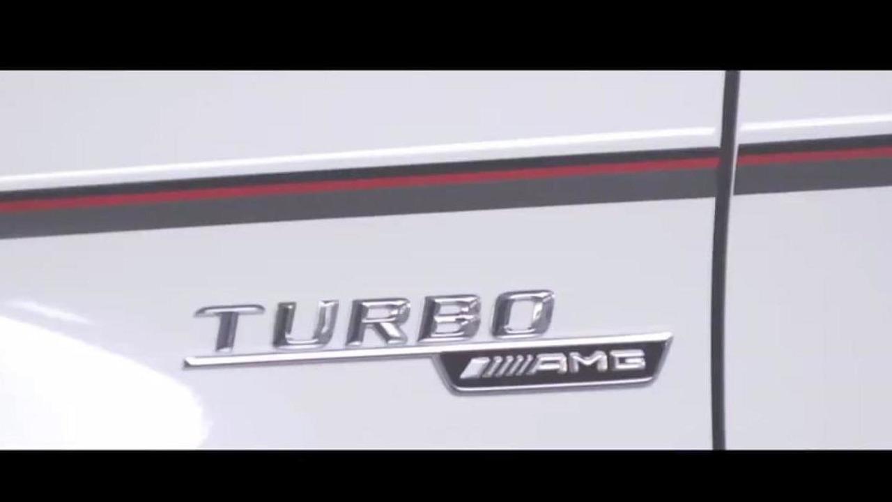 Mercedes GLA 45 AMG concept teaser image 19.11.2013