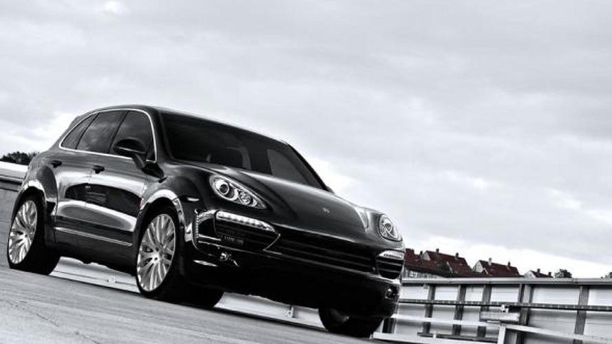 A. Kahn Design introduces their Porsche Cayenne 3.0 Diesel V6 Super Sport Wide Track