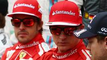 Alonso jokes Raikkonen struggle 'no surprise'