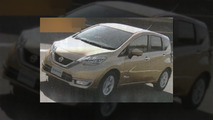 Nissan Note Hybrid leaked images