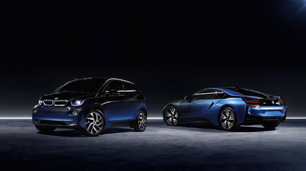 BMW I8 and I3 Crossfade Concepts
