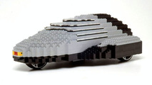 Mazda big lego car