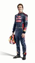 Jean-Eric Vergne 2014 Scuderia Toro Rosso