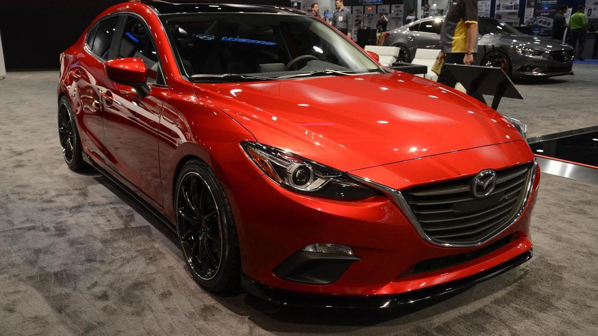 Mazda unveils four customized models at SEMA