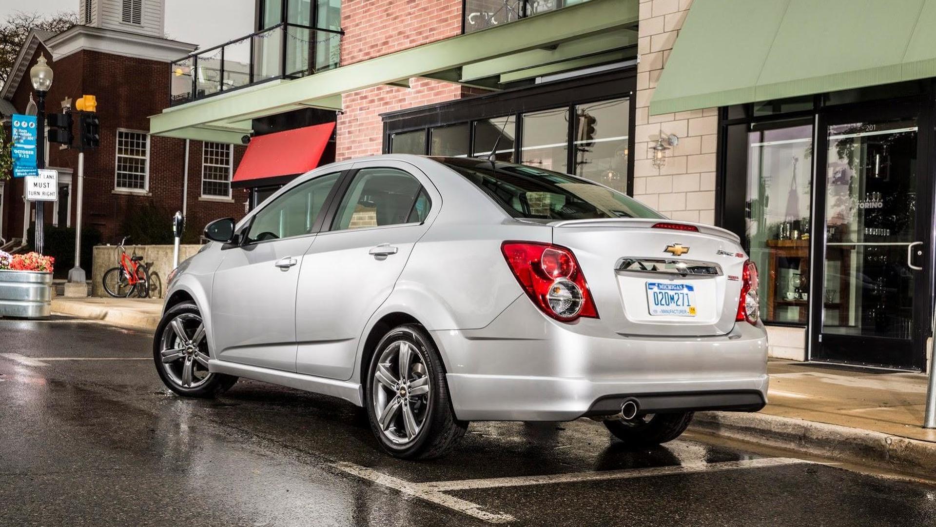 Chevrolet Sonic RS Sedan and Sonic Dusk Sedan introduced in L.A.