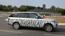 2014 Range Rover long wheelbase spy photo 23.07.2013